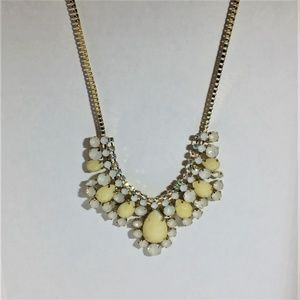Adjustable Pear Shaped Bead Necklace